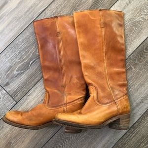 Vintage Frye Campus Boots Style #6509